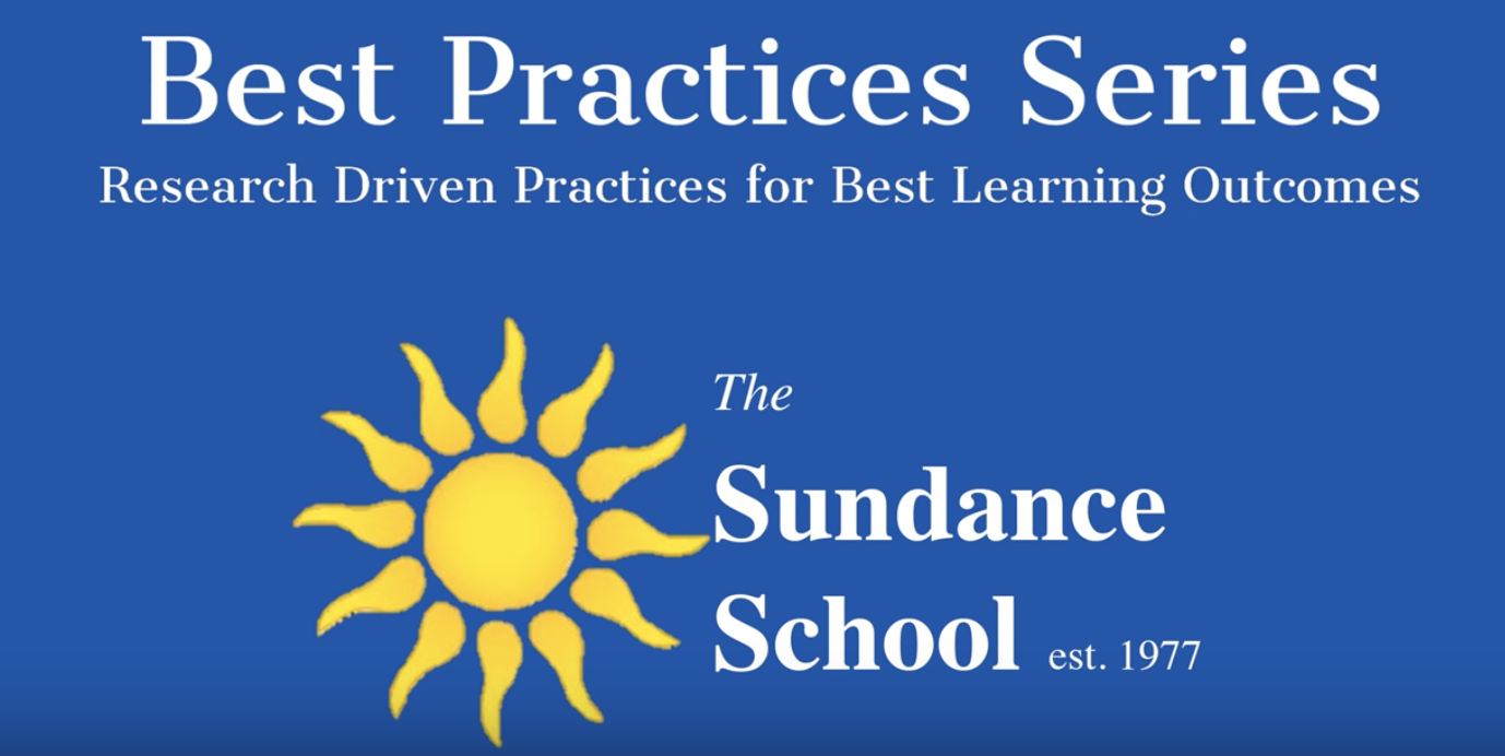 The Sundance School Best Practices VLOG Series-Growth Mindset